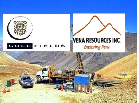 gold resources vena resources
