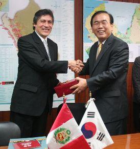 Perú Corea