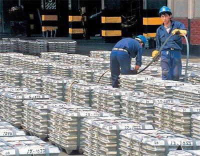 exportacion minerales
