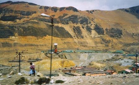 producción peruana de oro