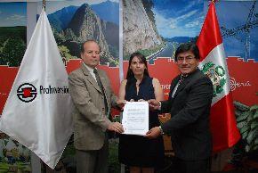 Firman convenio de transferencia de recursos del fideicomiso social  proyecto minero Bayóvar