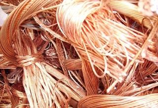 En marzo producción de cobre creció en 0.90%