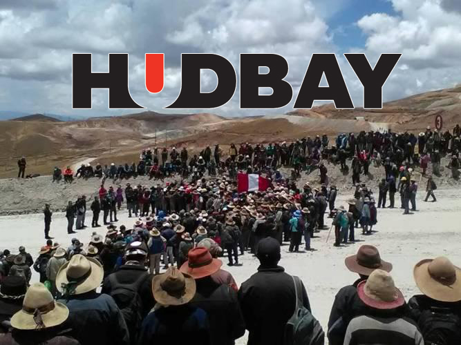 Protesta Mina Constancia Cusco