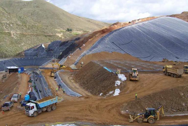 Tahoe Resources: La planta ADR de Shahuindo avanza 84%