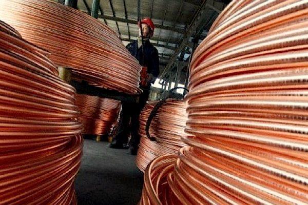 Exportación minera en cobre crece 32.9%