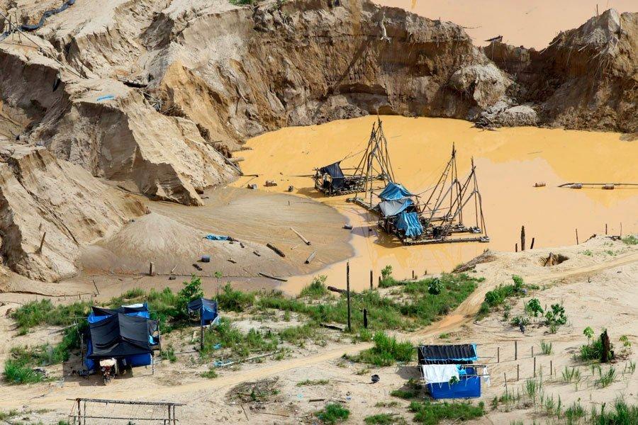 Operación Mercurio 2019: Destruyen insumos valorizados en S/14 millones para Mineria Ilegal