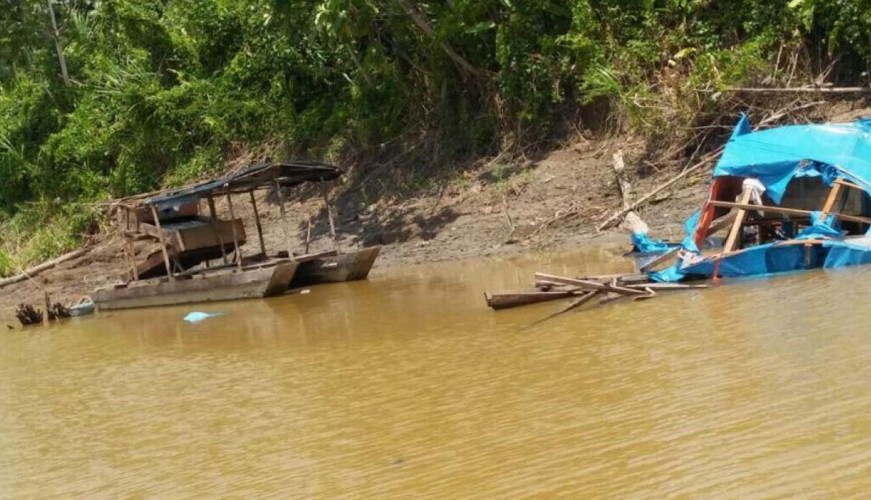 Loreto: Lucha contra la minería ilegal en el Río Napo